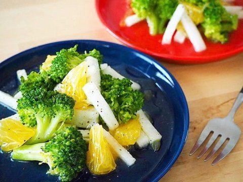 【季節のこころレシピvol.74】ビタミンたっぷりブロッコリーと柑橘のサラダ