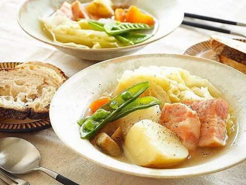 【季節のこころレシピvol.81】春野菜の旨味たっぷりポトフ